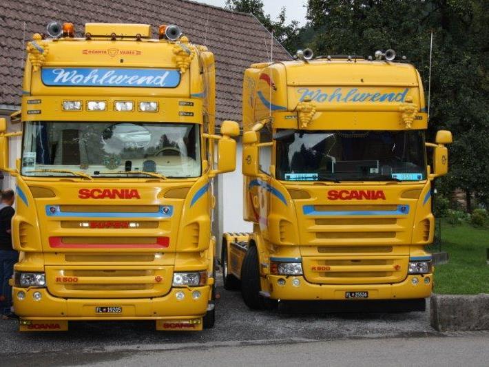 Zum fünften Mal findet in Sulz das Scania Treffen statt.