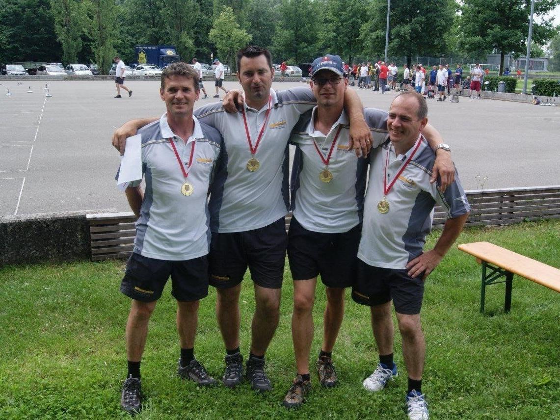 Die erfolgreiche Mannschaft - SV Lochau II