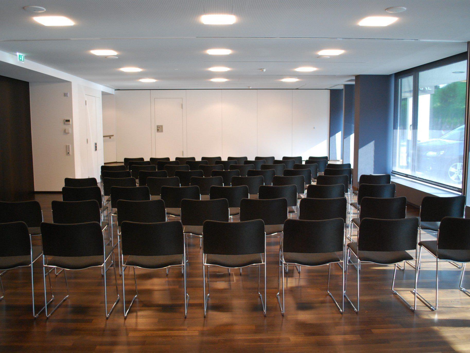 240 Quadratmeter mehr Nutzungsfläche für den Vinomnasaal.