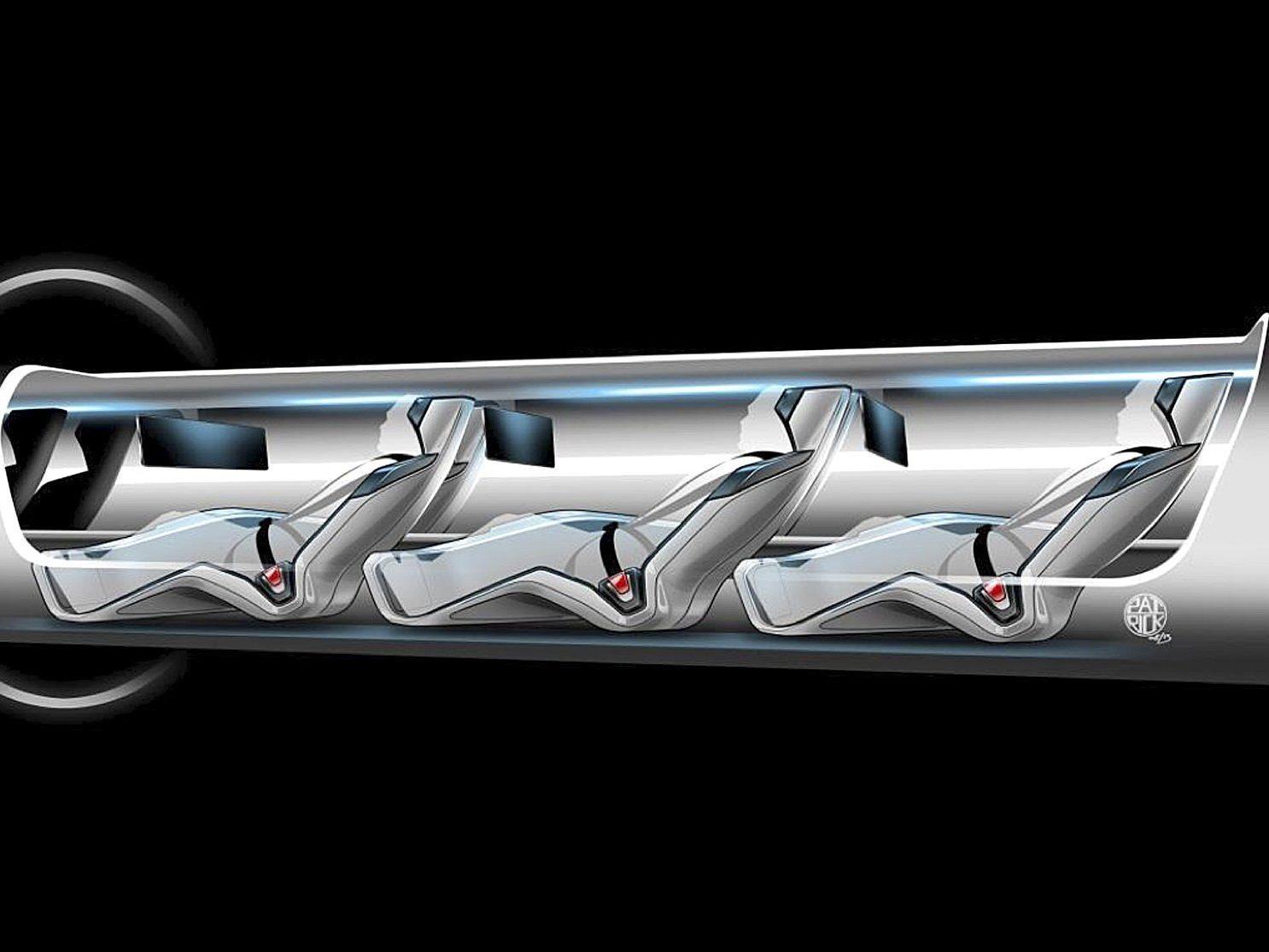 Hyperloop als Alternative für Schnellzug-Trasse.