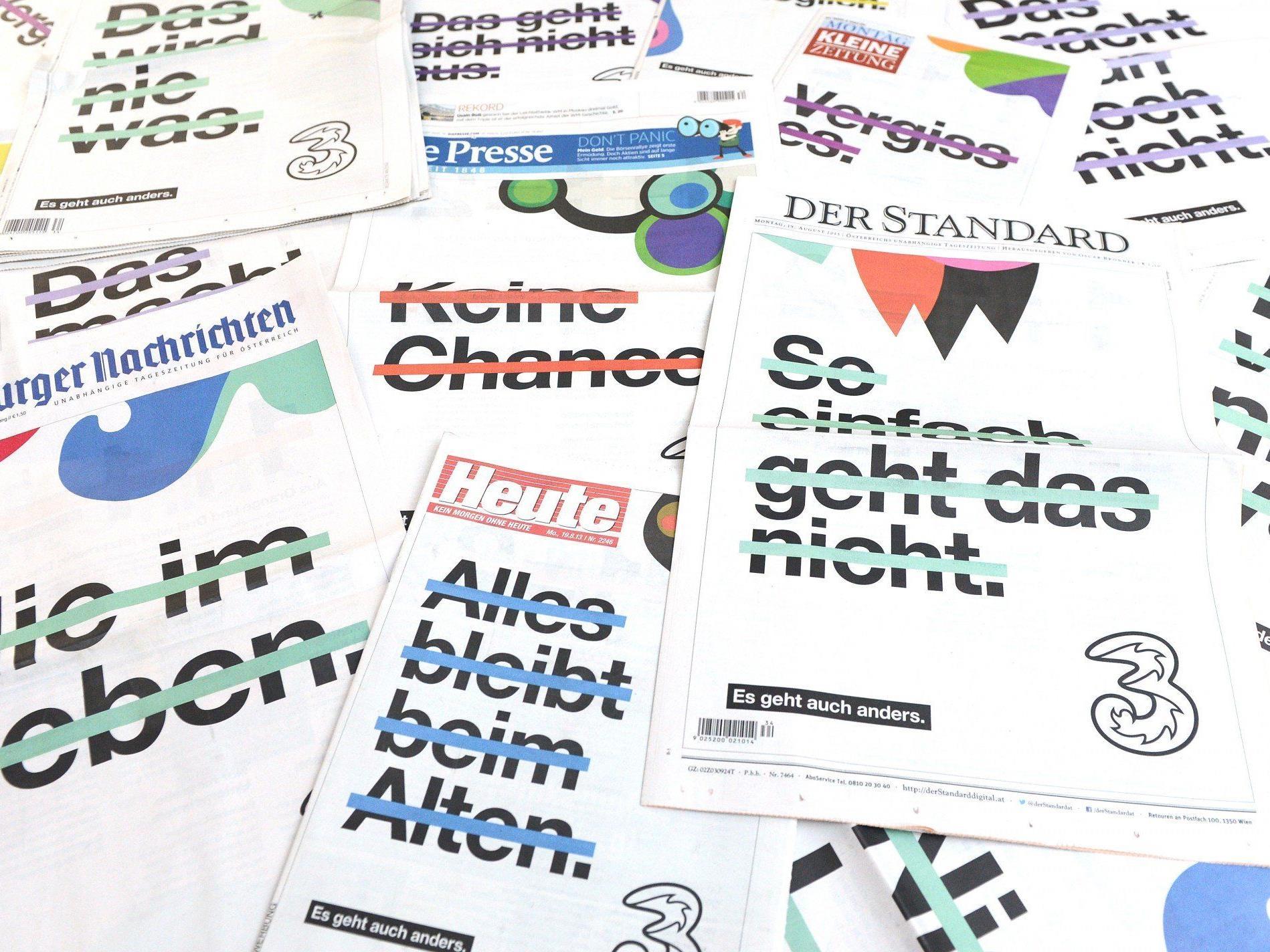 """""""Drei"""" kontrolliert nun ein Viertel des österreichischen Marktes und will wachsen."""