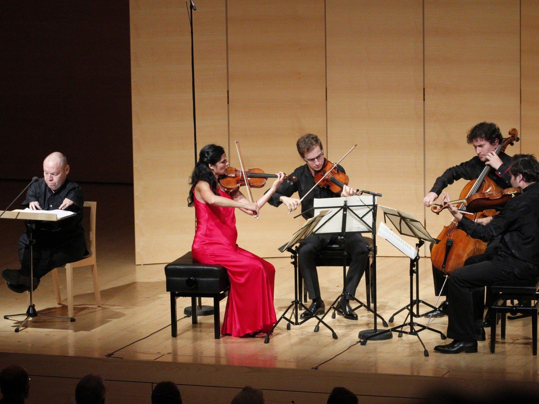 Thomas Quasthoff und das Belcea Quartet im Kauffmann-Saal.