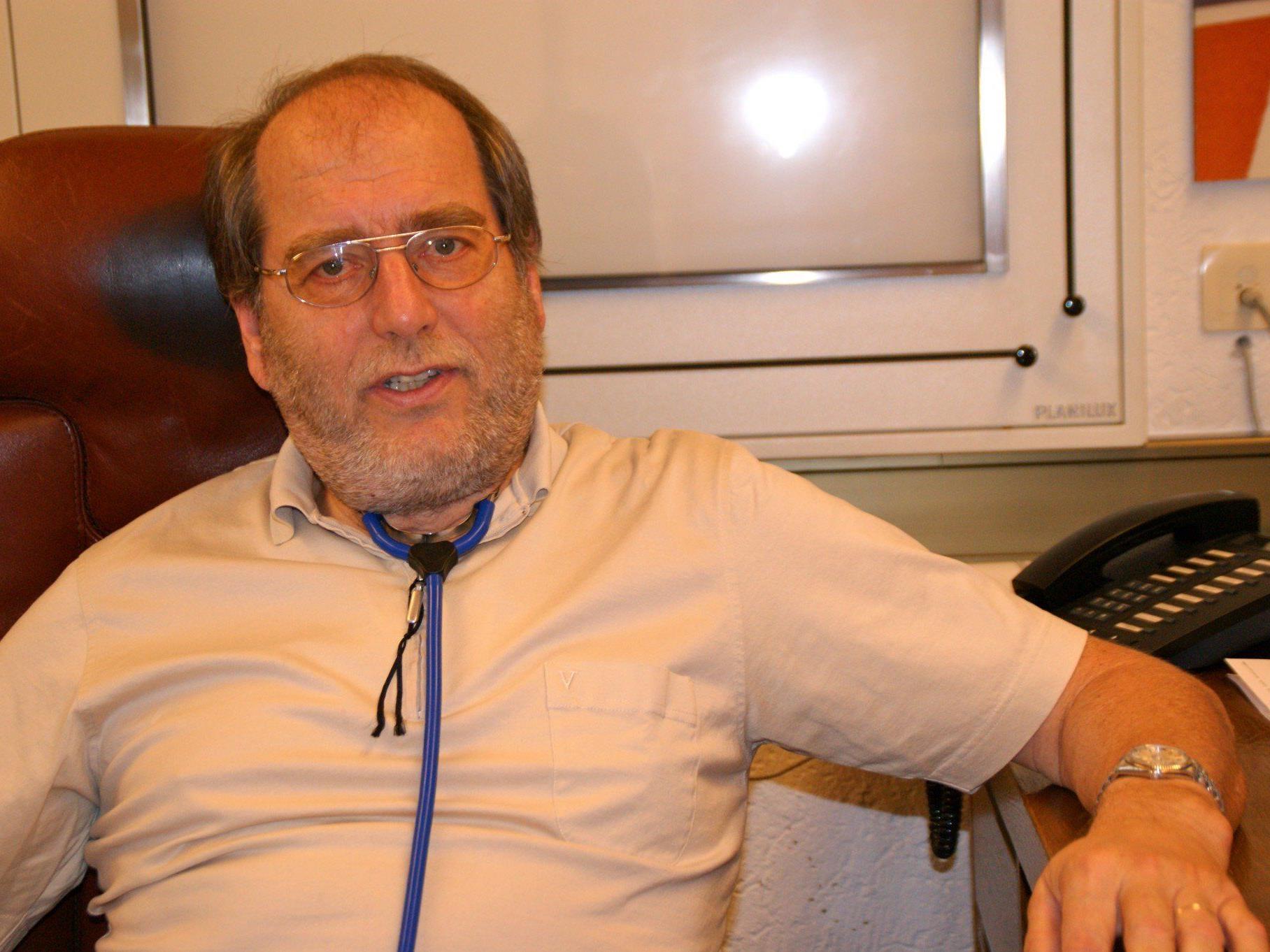 Der Arzt des Gemeindearztsprengels Sulz - Röthis - Viktorsberg verabschiedet sich in den verdienten Ruhestand.