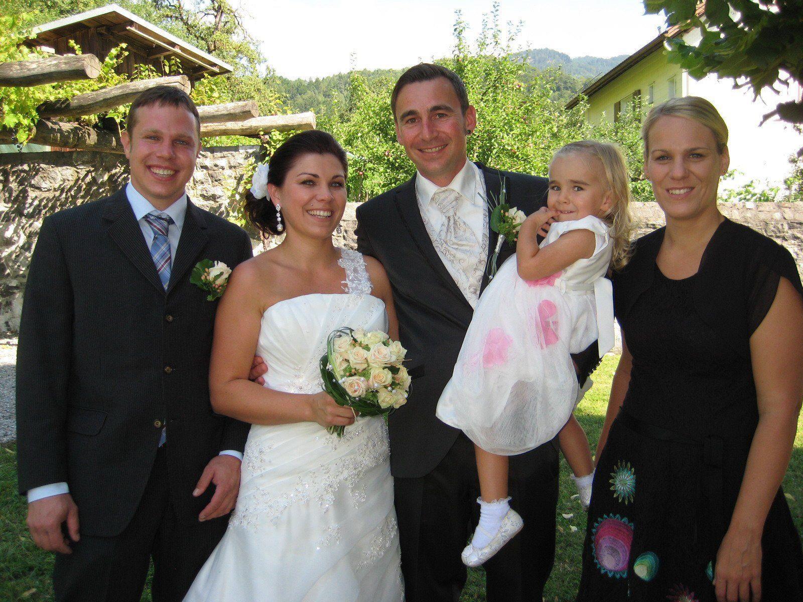 Claudia Allgäuer und Mario Ebenhoch haben geheiratet.