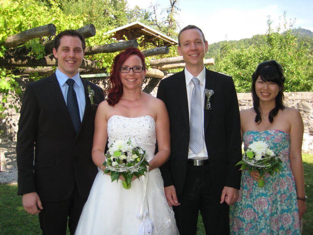 Claudia Hämmerle und Thomas Riemer haben geheiratet.