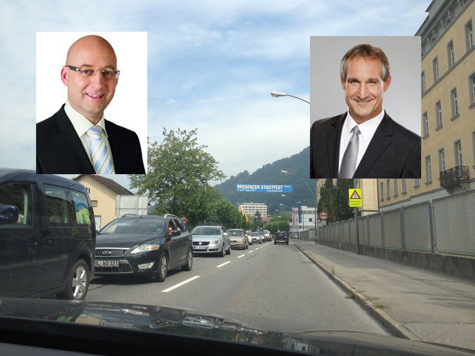 Verkehrschaos in Bregenz: Linhart lehnt Verantwortung ab, SPÖ will Wiedereinführug der Korridorvignette
