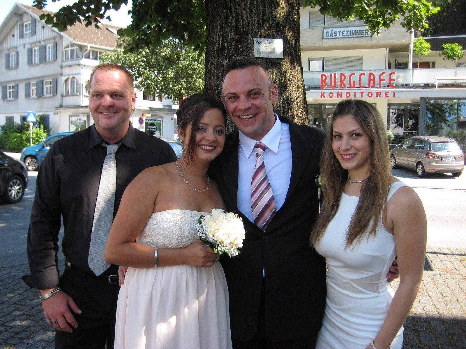 Tanja Odete Cruz Valencia und Almir Arapovic haben geheiratet.