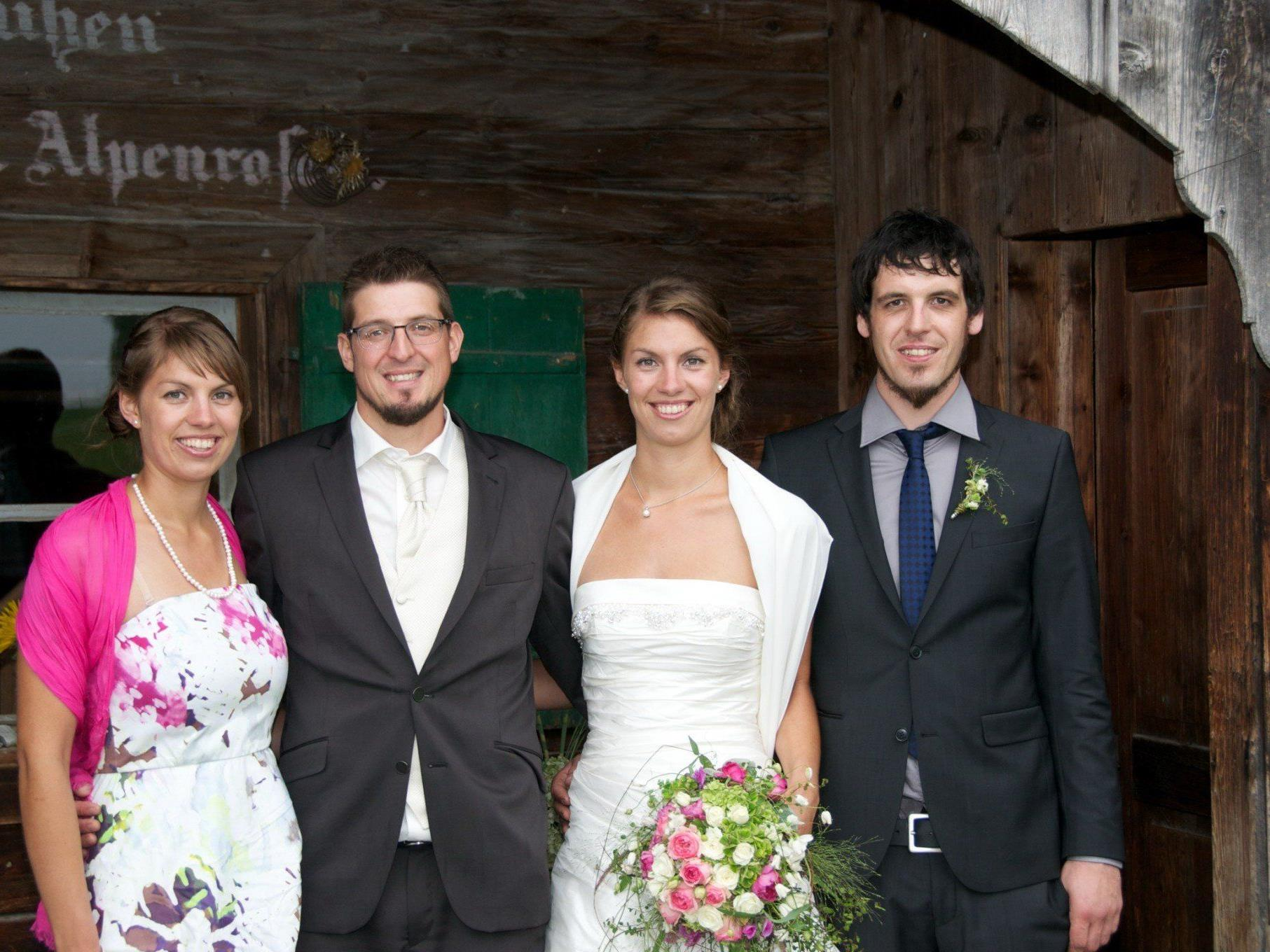 Melanie Gohm und Florian Maier haben geheiratet.