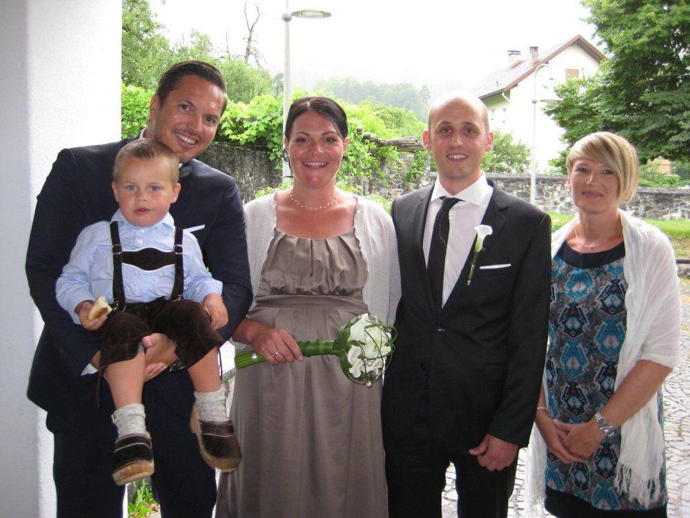 Sabine Längle und Patrick Kofler haben geheiratet.