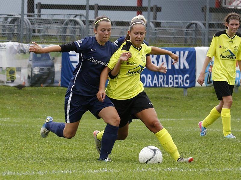 Verena Müller besorgte zwei Minuten vor dem Schlusspfiff bei der BL-Premiere gegen Traun den 2:0-Endstand.