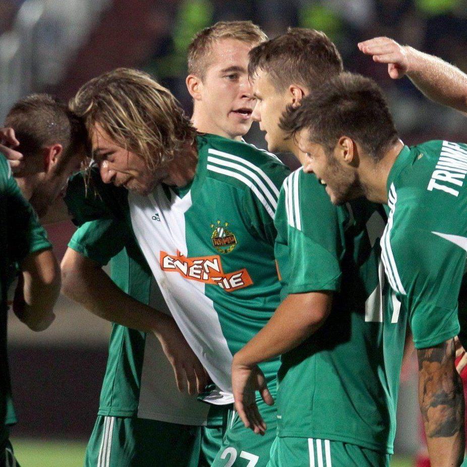 Rapid WIen steht nach dem 2:0Erfolg über DIla Gori in der Europa League-Gruppenphase.