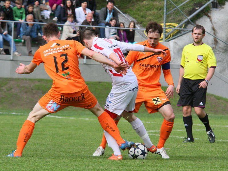 Bizau gewann zum Auftakt der neuen Saison das Heimspiel gegen Admira Dornbirn mit 2:0.