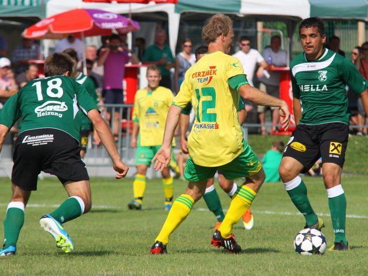 Der Dornbirner SV gewann die Sonntagsmatinee mit 2:0.