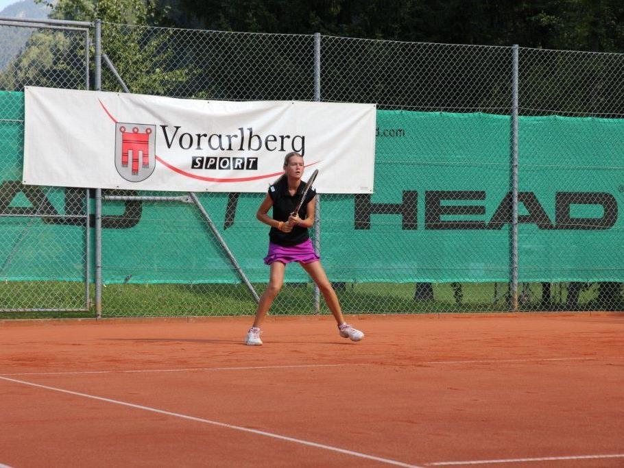 Die Jugend-Tenniselite trifft sich ab 17. August in Vandans im Montafon.