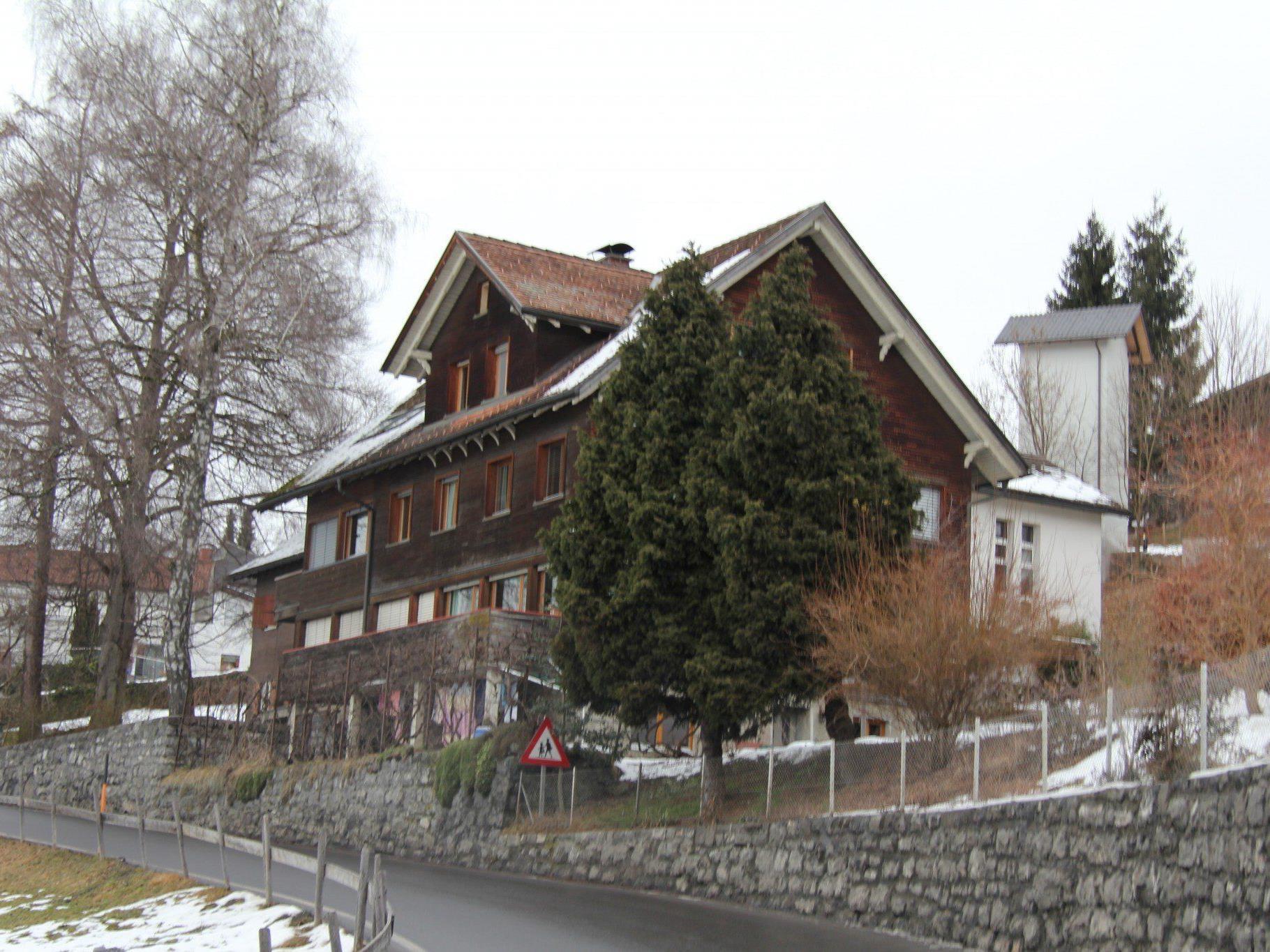 Das Asylantenheim in Batschuns.