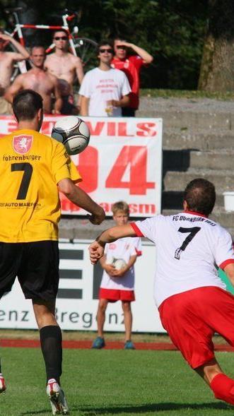 FC Dornbirn-Neuzugang Jan Gmeiner gelang ein Doppelpack, aber zu einem Punkt reicht es nicht.