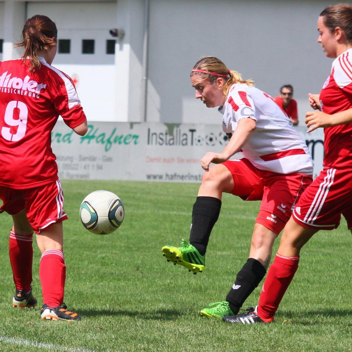 RW Rankweil Torschützin vom Dienst Anja Stadelmann hofft auf den Meistertitel und viele Treffer.
