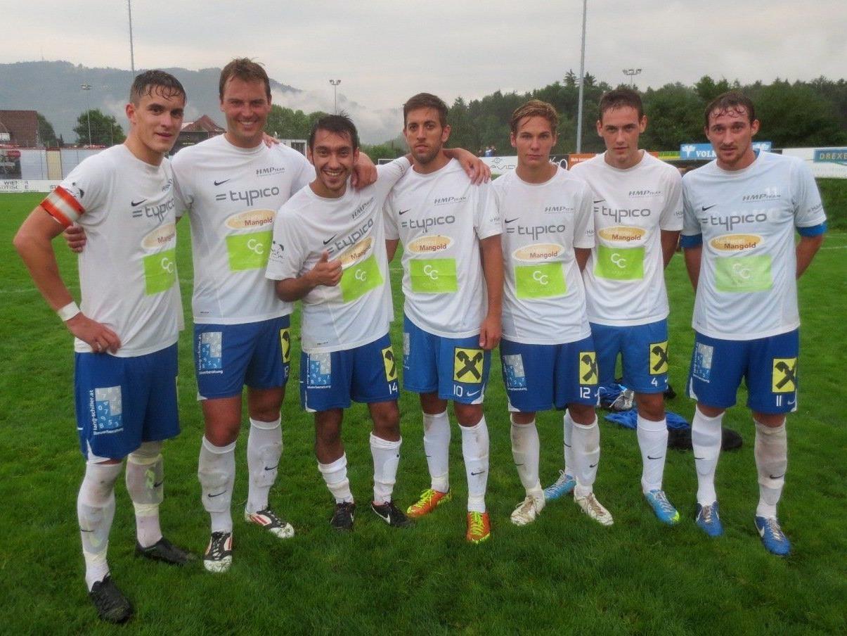 SV Typico Lochau spielt im VFV-Cup auf dem Hoferfeld gegen das starke Team des FC Egg.