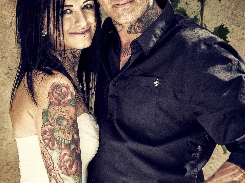 Kristina Ladinek und Mike Geringer haben geheiratet