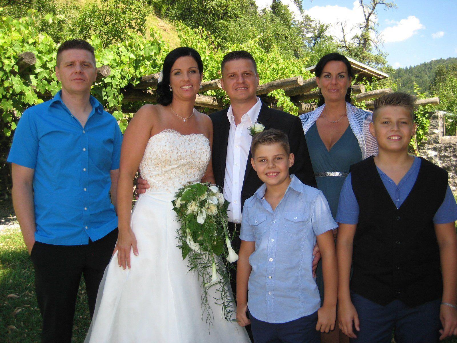 Christiane Ilg und Robert Kranjec haben geheiratet.