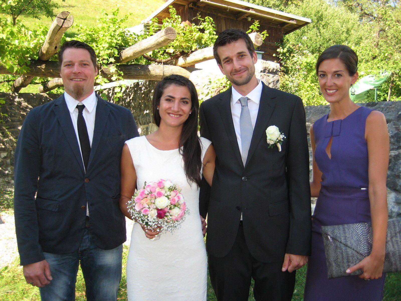 Anna Maria Schneider und Marcel Onder haben geheiratet.