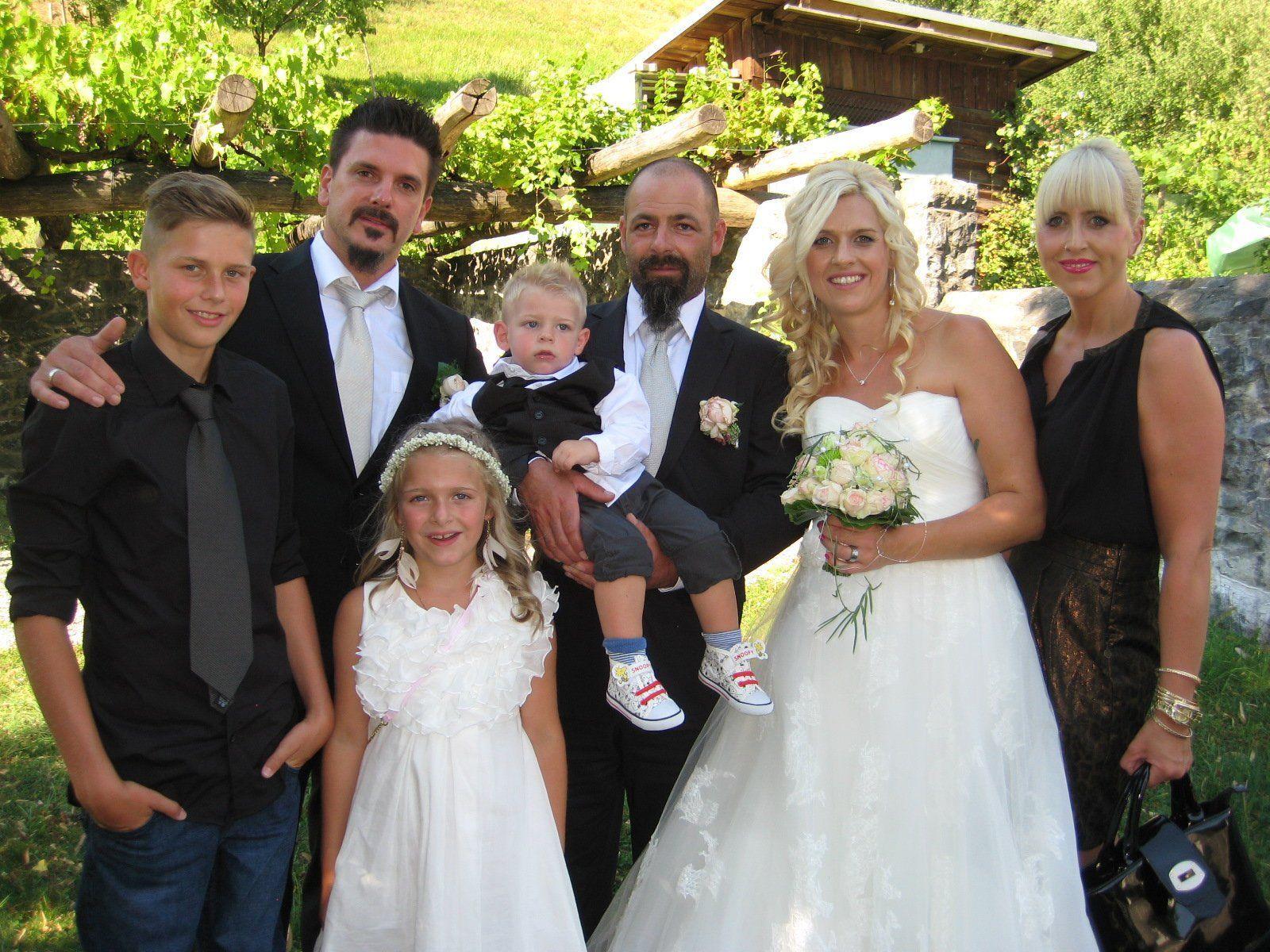 Karina Gächter und Benjamin Zerdin haben geheiratet.