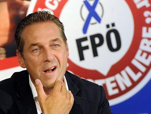 FPÖ-Chef Strache will die 20-Prozent-Marke Ÿüberspringen