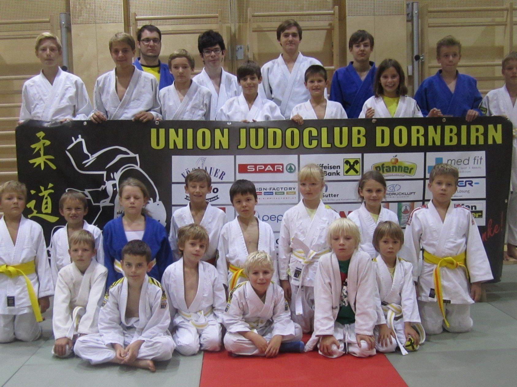 Trainingsgruppe Judo Dornbirn