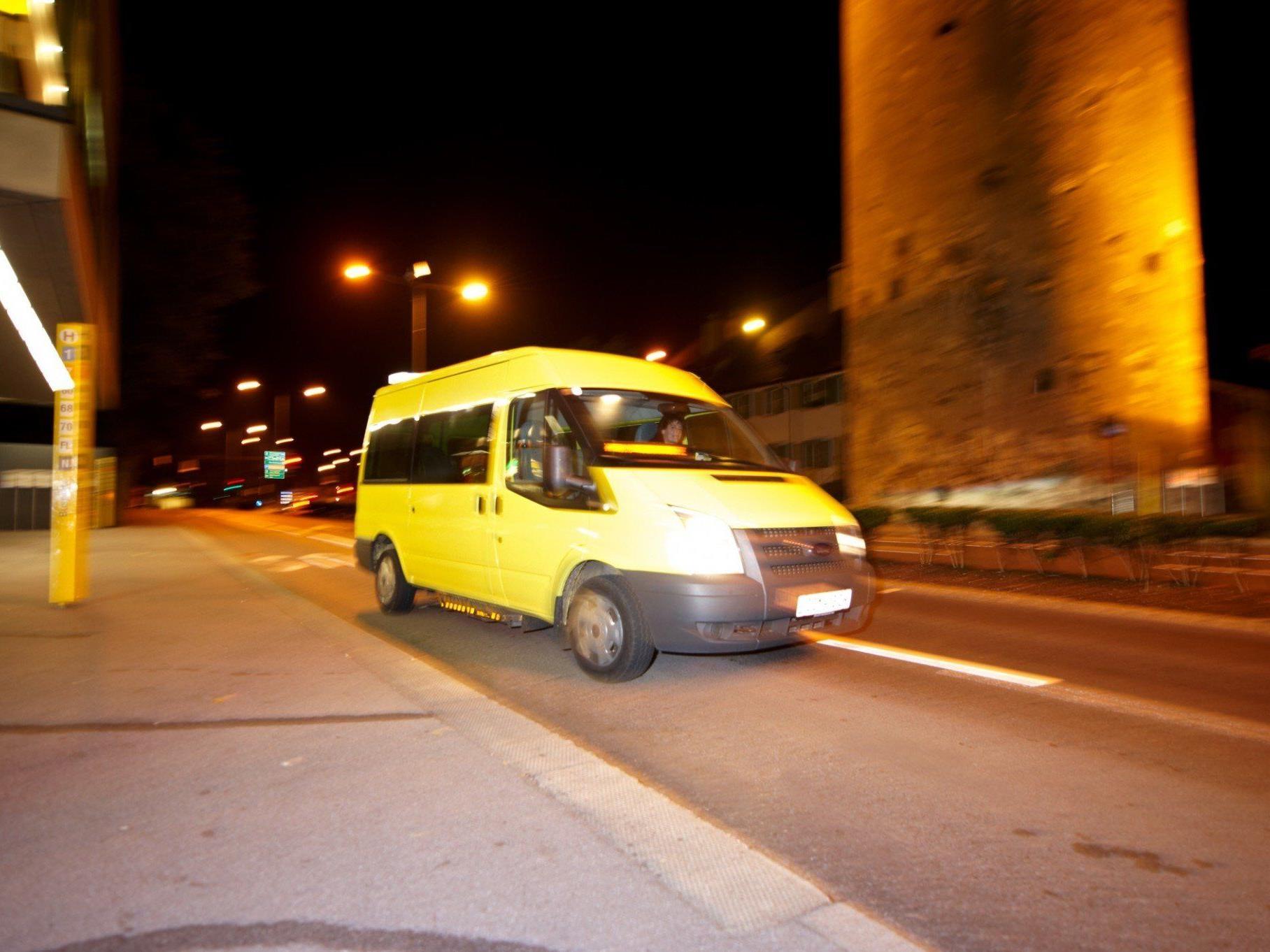 Der YOYO Rufbus hat in zehn Jahren mehr als 160.000 Nachtschwärmer sicher nach Hause gebracht.