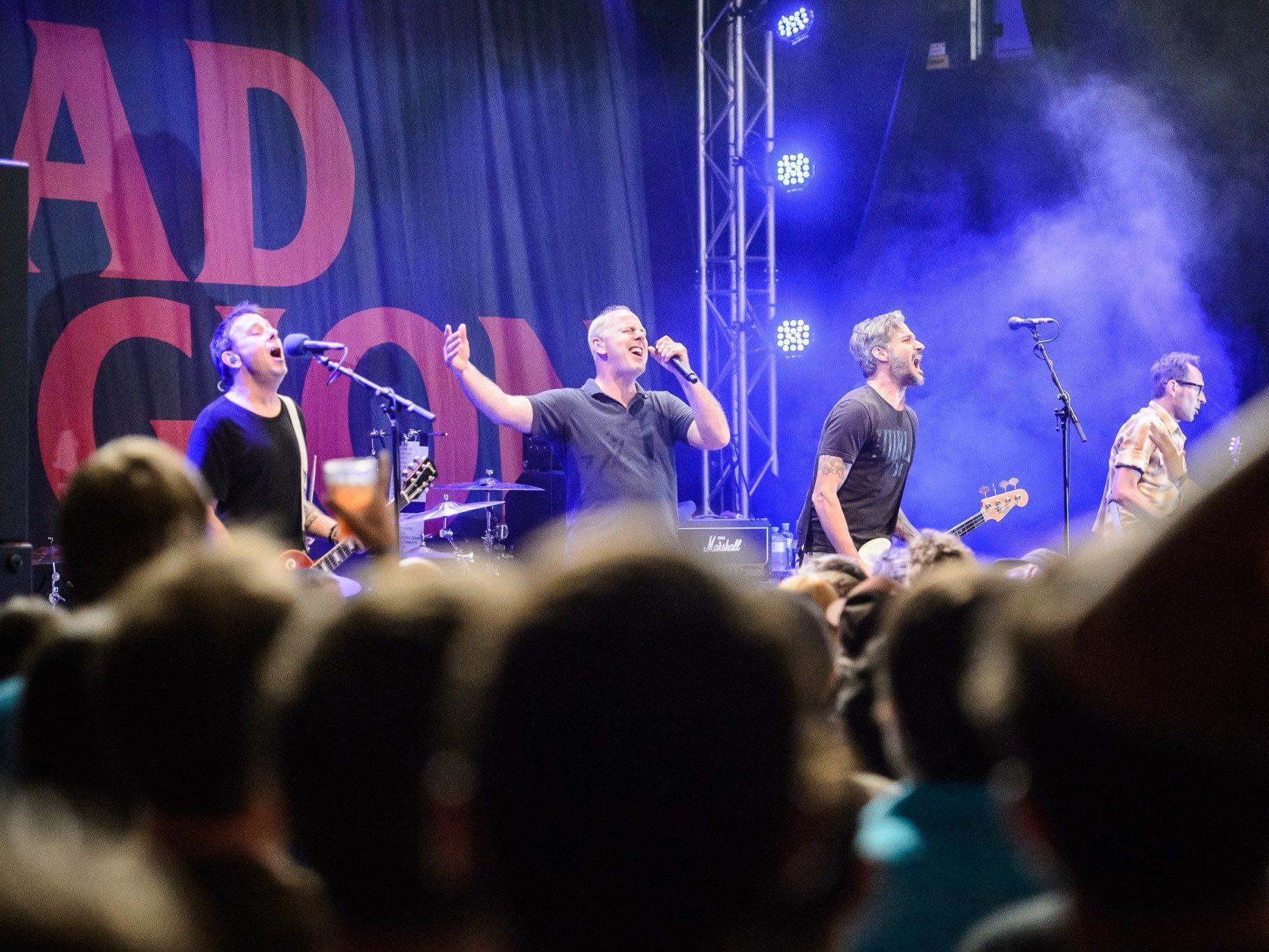 Musik-Titanen unter sich: Bad Religion
