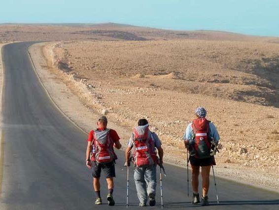 Zu Fuß von Oberösterreich nach Jerusalem: Die drei Pilger legten 4500 Kilometer zurück.