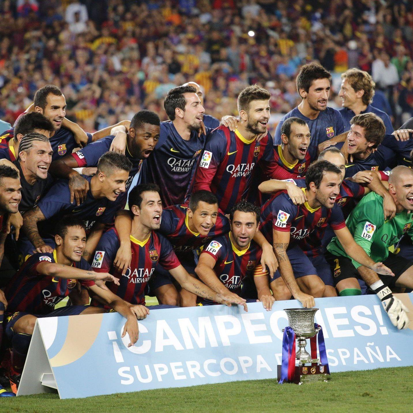 Der FC Barcelona konnte sich am Mittwoch zum elften Mal den spanischen Supercup sichern.