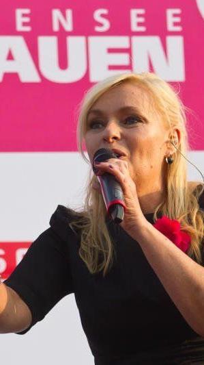Die Sängerin Christine Nachbauer aus Götzis tippt den kommenden Spieltag in der Regionalliga West.