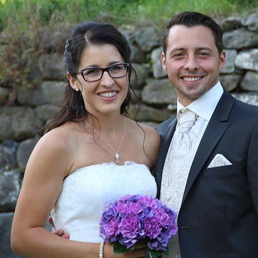 Die Röthnerin Denise Domig und Patrick Egle gaben sich das Ja-Wort.