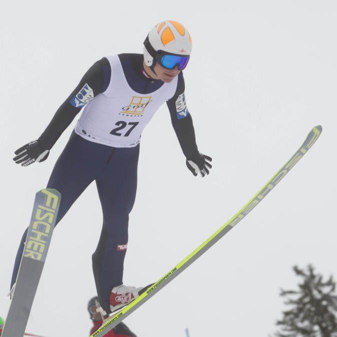 Der Dornbirner Skispringer Patrick Streitler wurde in Villach einmal Erster und Zweiter.