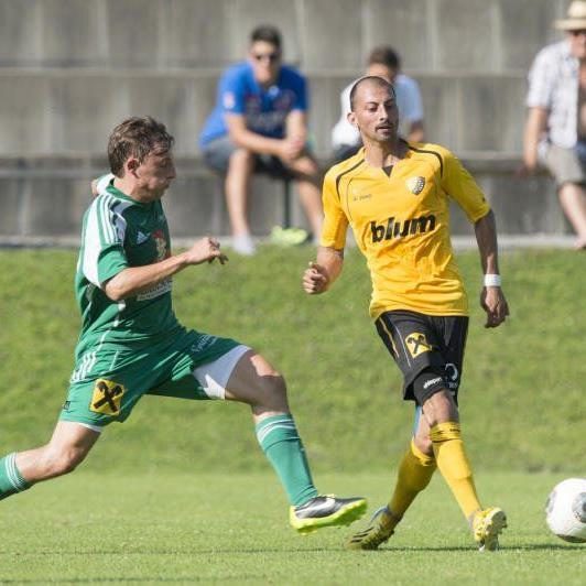 Ahmet Caner traf beim 4:0-Heimsieg von Höchst gegen Kufstein gleich zweimal ins Schwarze.