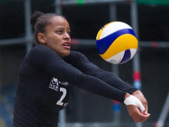 Lisa Chukwuma steht in Wolfurt im Finale.