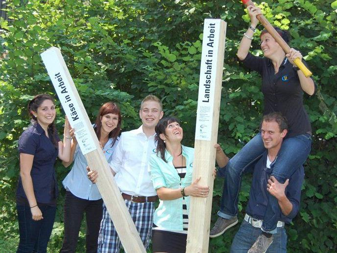 Die Landjugend Jungbauernschaft setzt Zeichen für die Alpen.