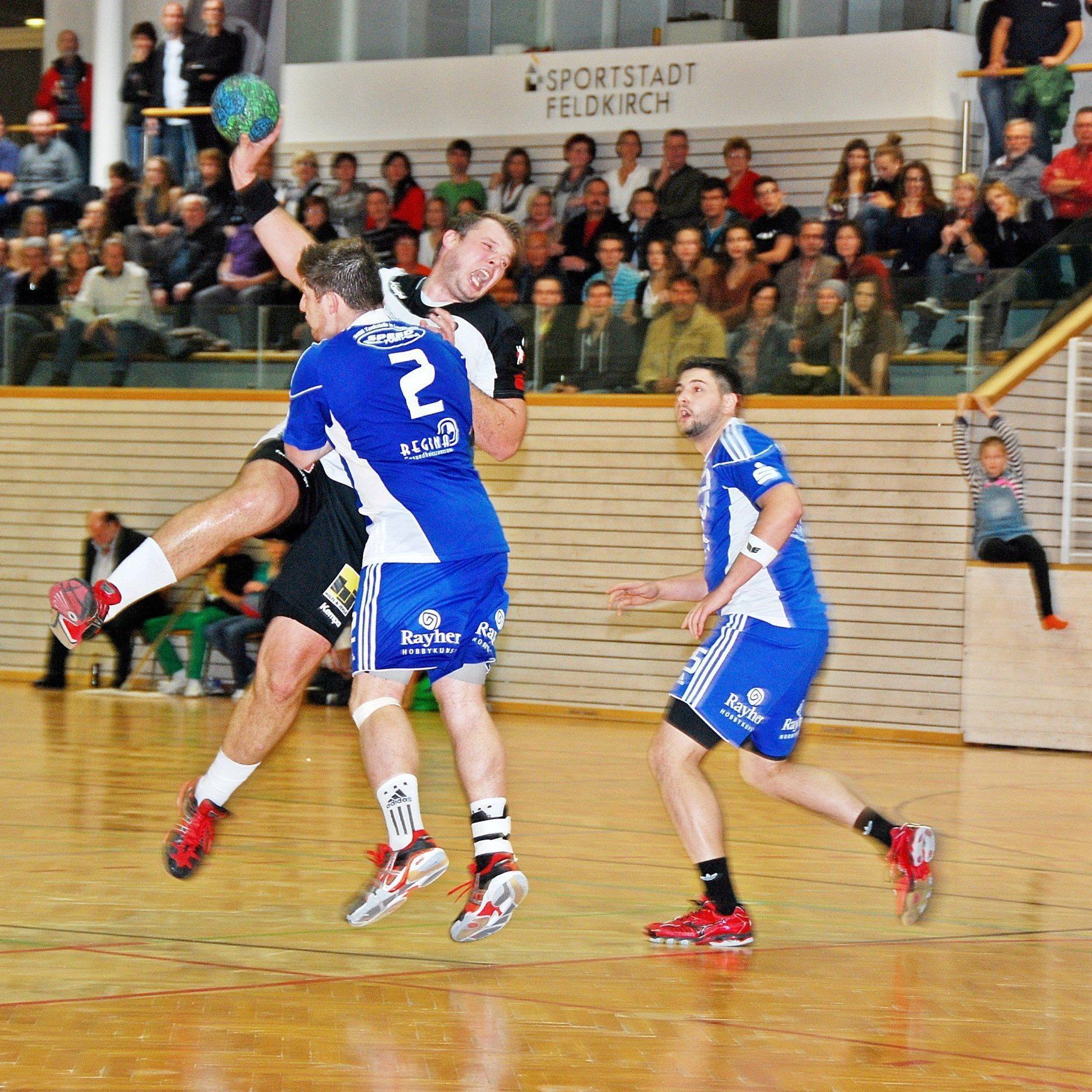 Die Feldkircher Handballer bestreiten beim Heimturnier in der Reichenfeldhalle einige Tests.
