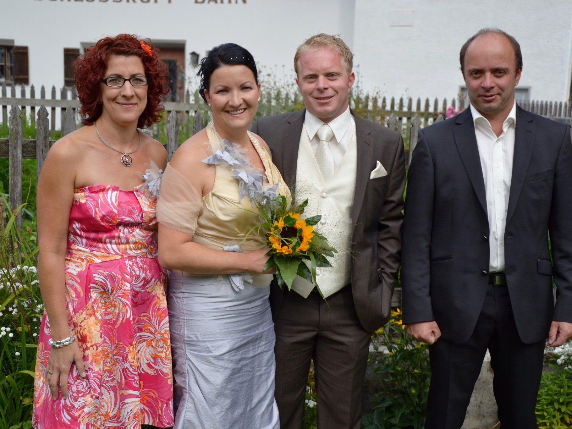 Am 23. August gaben sich Bianca Zudrell und Michael Fritz aus Dalaas das Ja-Wort in Lech.