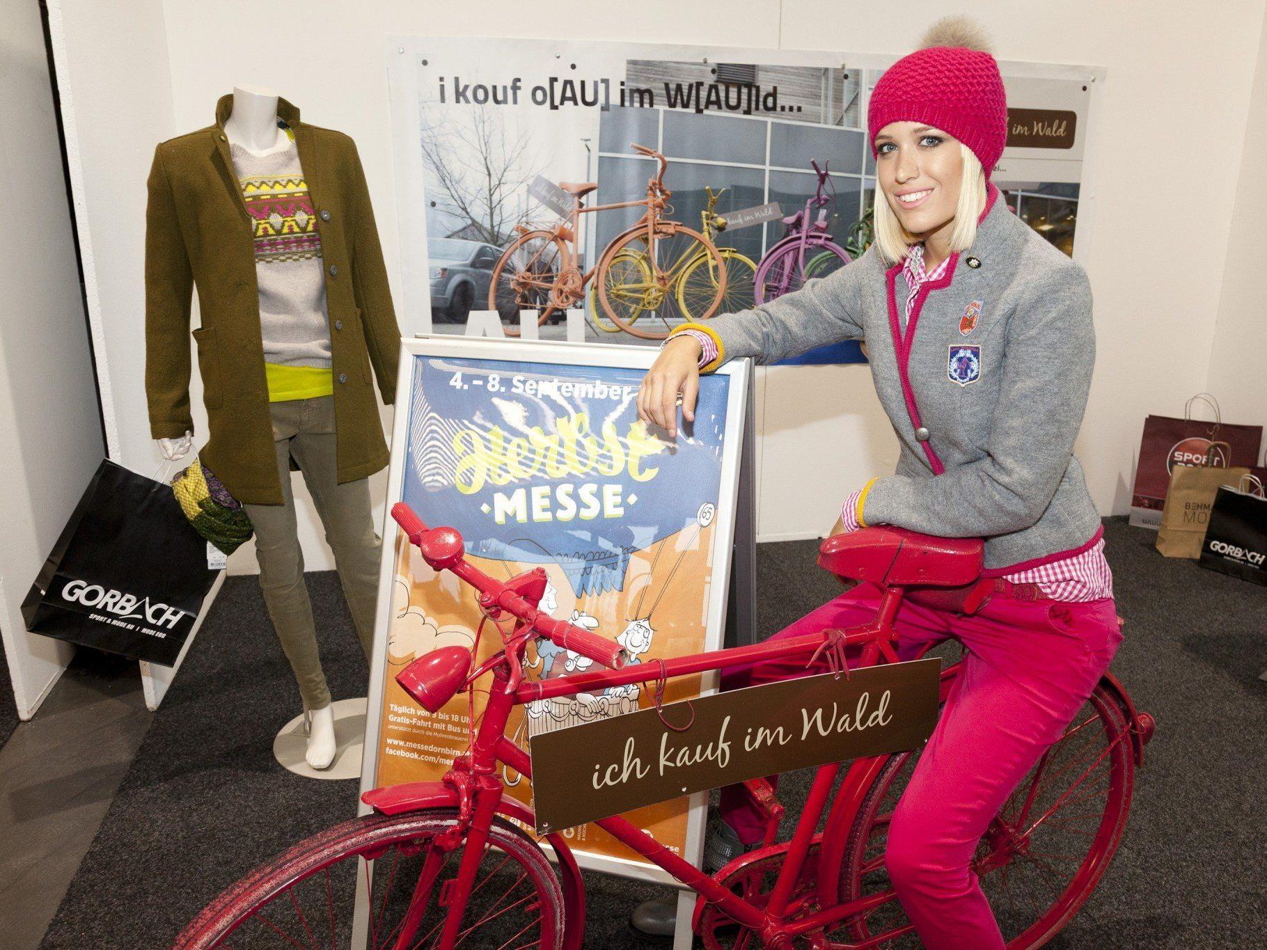 Trendige Mode aus dem Bregenzerwald gibt es auf der Herbstmesse in Dornbirn.