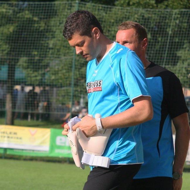 Markus Müller hütet für RW Rankweil im VFV Cup gegen BW Feldkirch 1b das Tor.