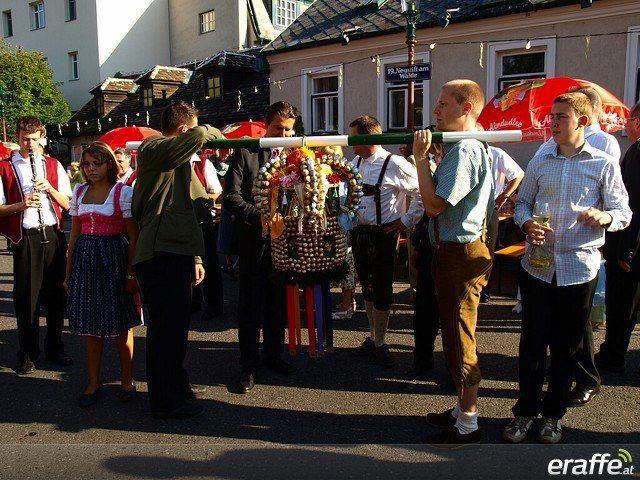 Von Freitag bis Sonntag findet der Neustifter Kirtag in Wien statt.