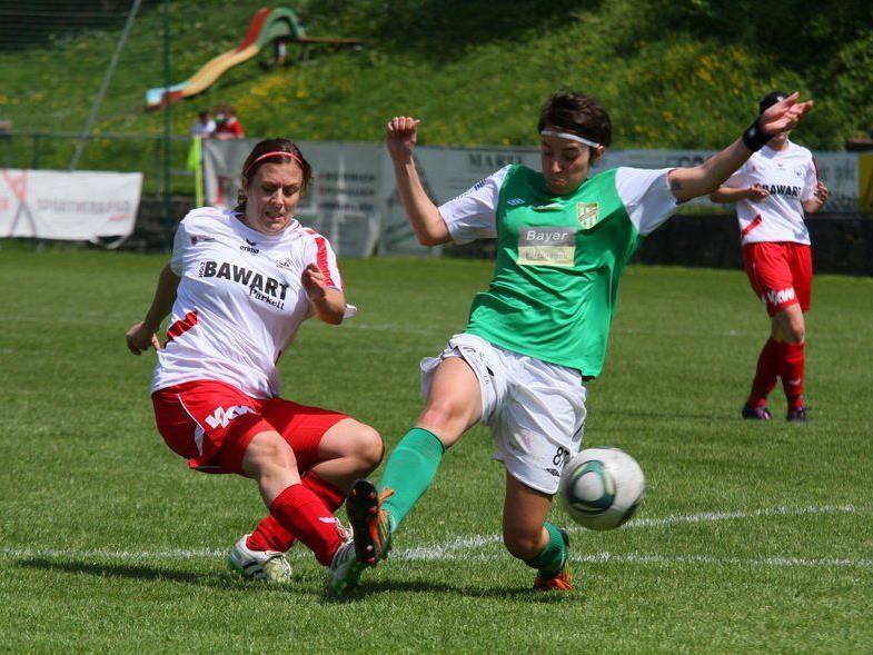 Rankweil-Torjägerin Anja Stadelmann will auch im ÖFB Cup gegen Erl ins Schwarze treffen.