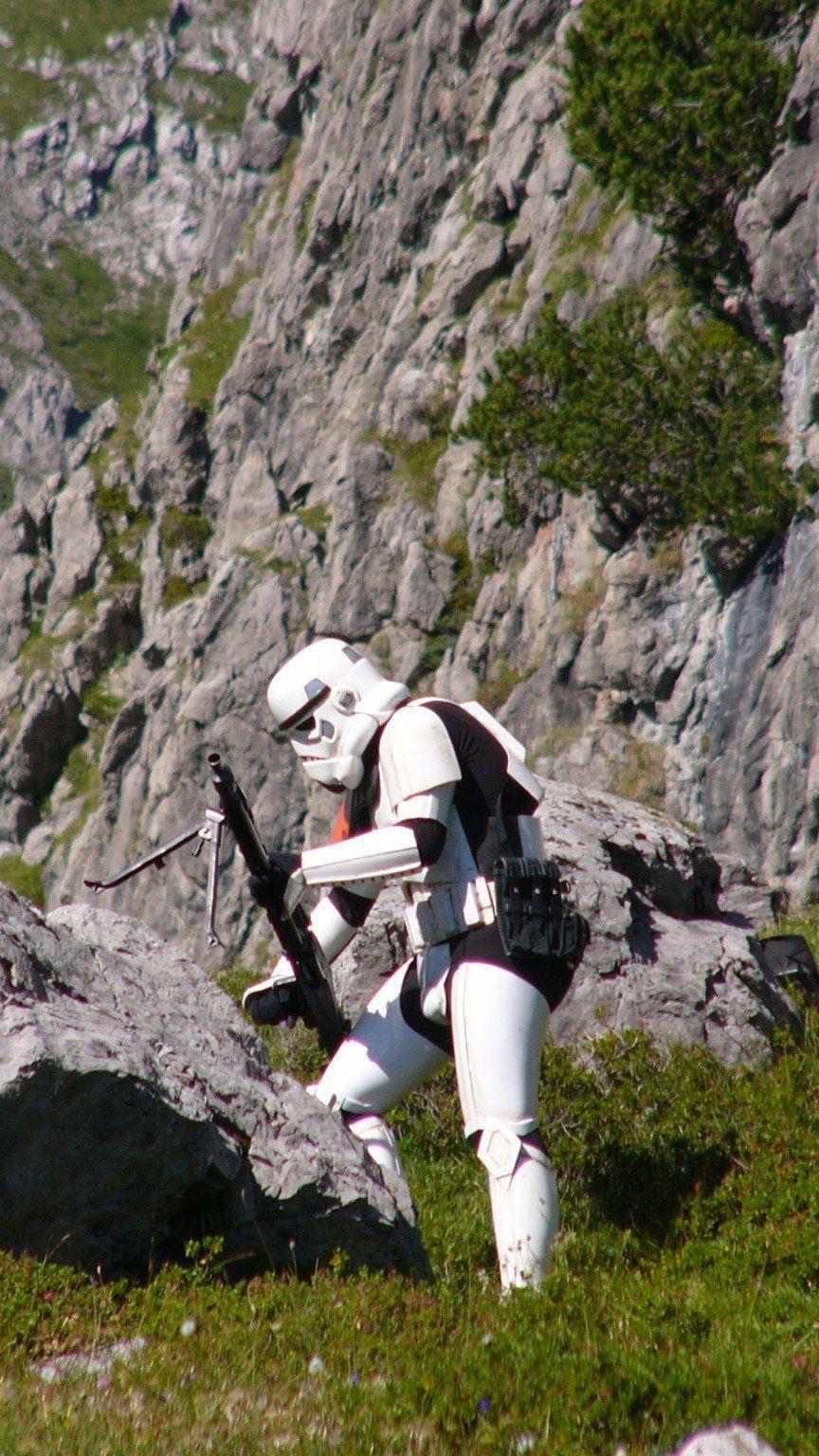 Stormtrooper am Lünersee.