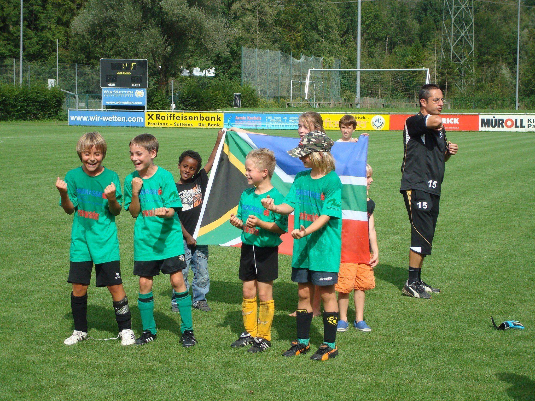 Ferien- und Freizeitcamp für Kicker U8 - U13 vom 19. bis 23. August, 9.30 (montags ab 9.00 Uhr) bis 16 Uhr.