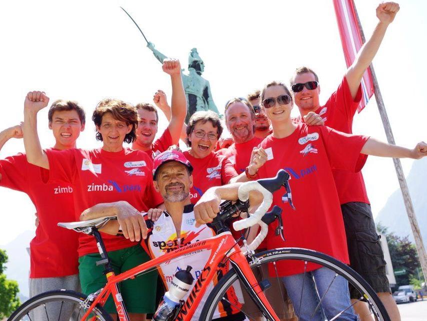 Der Bludenzer Johann Eisenbraun will beim Race Around Austria einen Podestplatz erreichen.