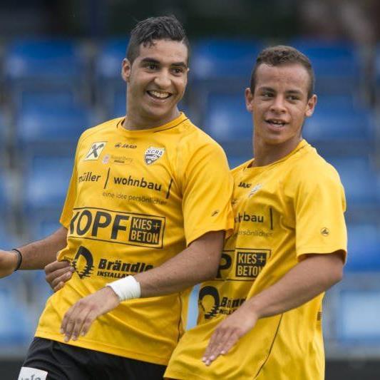 Altach Amateure Neuzugang Morad El Wardi schoss das 1:0 Führungstor beim 4:1-Heimsieg gegen Anif.