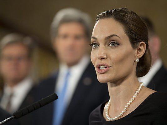 Humanitäres Engagement von Jolie wird gewürdigt