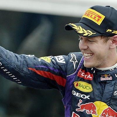 Vettel tritt auf die Euphoriebremse